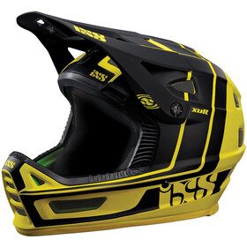 IXS Xult Fullface Helm, yellow/black